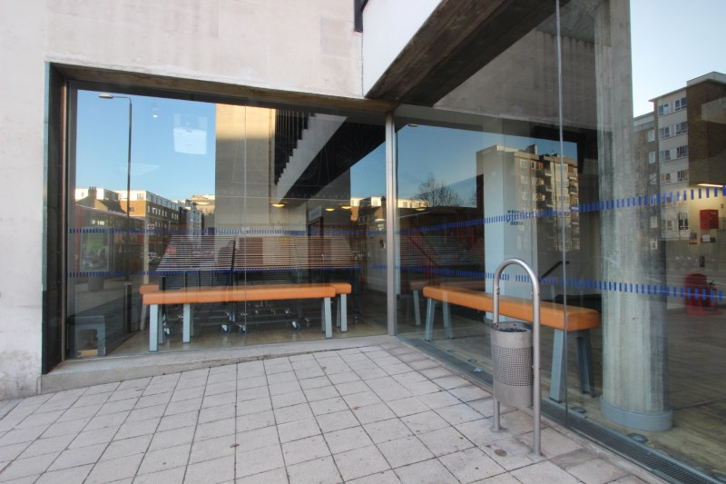 Queen Mary University Frameless Glass Entry Gallery Gallery